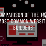 Comparison of the two most common Website Builders