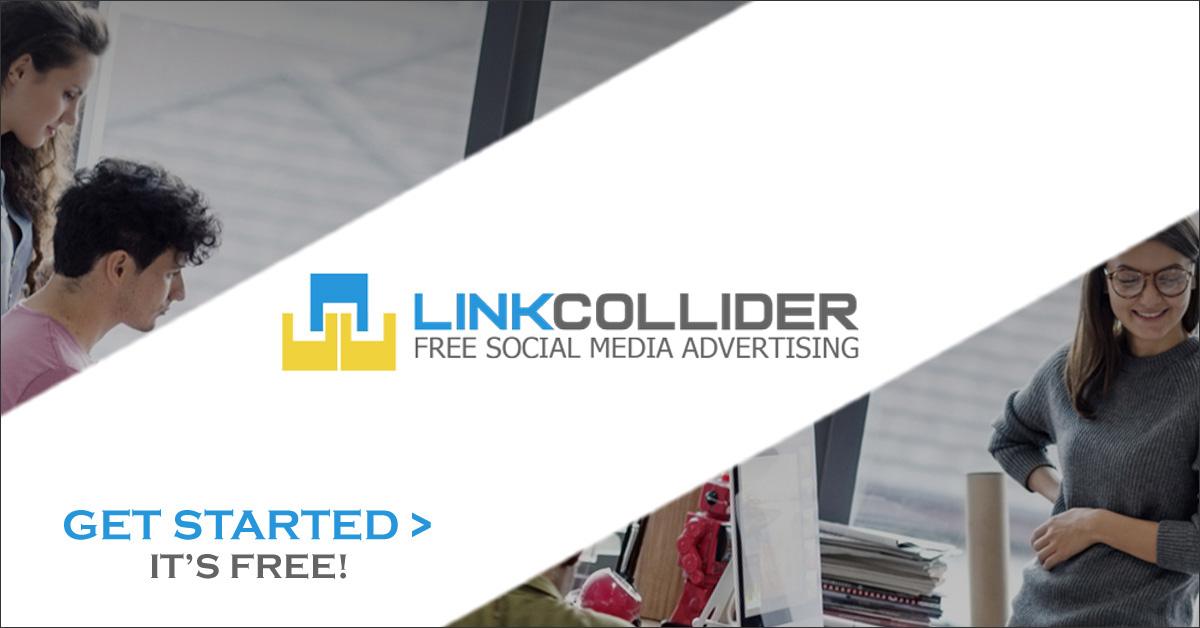 LinkCollider - Free Social Media Advertising